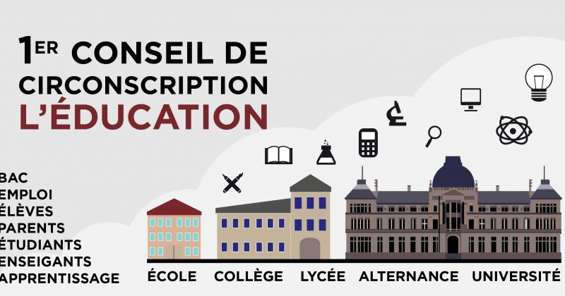 1er conseil de circonscription : l'Education