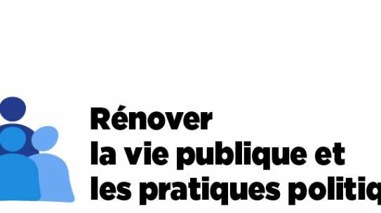 [CP] Présentation des propositions « Pour la confiance en notre vie démocratique » par François Bayrou