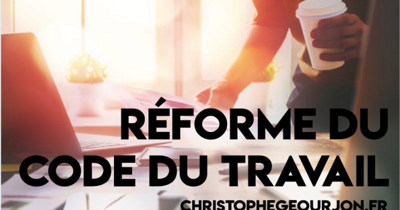 Communiqué de presse : Réforme du droit travail / 22 sept 2017