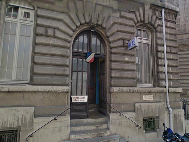 Lettre au ministre de l'intérieur : Projet de fusion des commissariats du 7e et 8e arrondissement